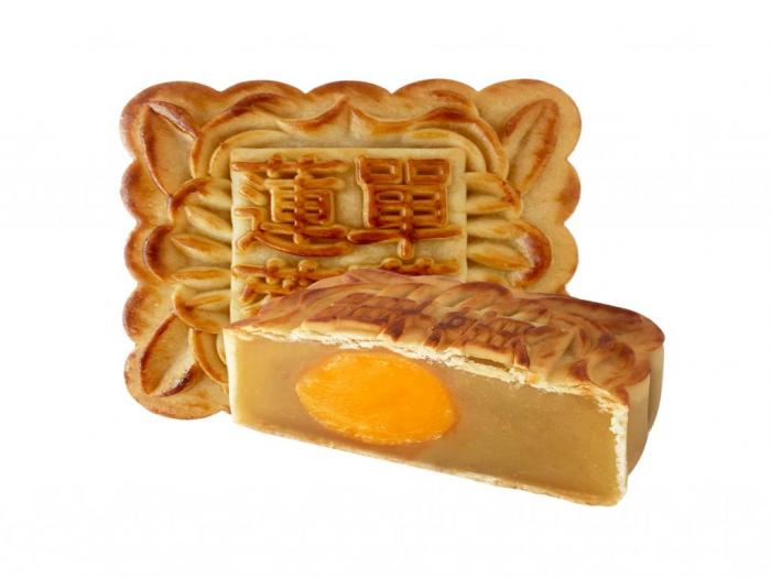 Mooncake Lotus Paste Single yolk