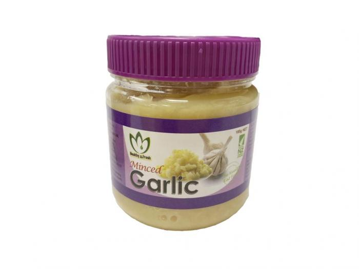 H & F Minced Garlic 185g 12ct