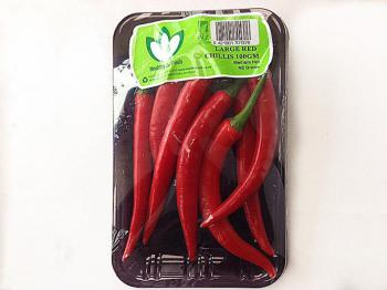 Chilli Large Red P/P 100g 15ct