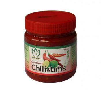 H & F Crushed Chilli & Lime  185g 12ct