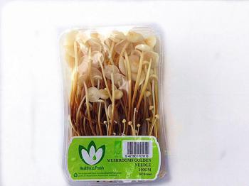 Mushrooms Golden Needle P/P 100g 8ct