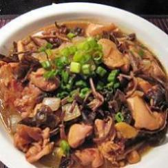 Stir Fried Chicken with Exotic Mushrooms